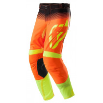 Acerbis Hose X-FLEX MX17 orange-fluo-schwarz