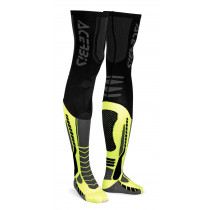 Acerbis Struempfe X-LEG PRO schwarz-gelb-fluo