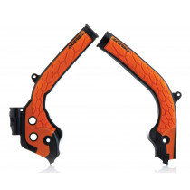 Acerbis Rahmenprotektor X-GRIP KTM / Husqvarna schwarz-orange