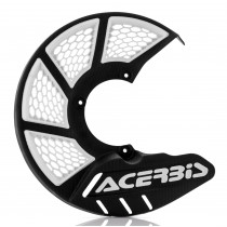 Acerbis Bremsscheibenschutz X-BRAKE vorne Honda / Yamaha / Suzuki / Kawasaki / KTM / Husqvarna / Beta / Sherco schwarz-weiß
