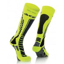 Acerbis Socken MX PRO schwarz-gelb-fluo