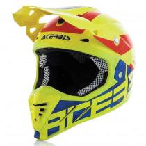 SALE% - Acerbis Helm Profile 3.0 Blackmamba gelb-fluo-blau