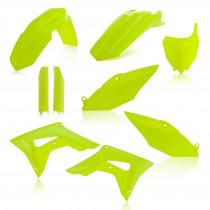 Acerbis Plastik Full Kit Honda gelb-fluo / 6tlg.