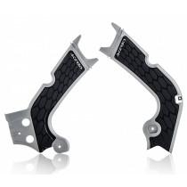 Acerbis Rahmenschutz X-GRIP Honda silber-schwarz