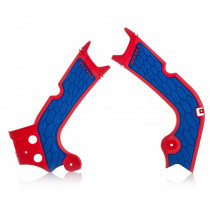 Acerbis Rahmenschutz X-GRIP Honda rot-blau