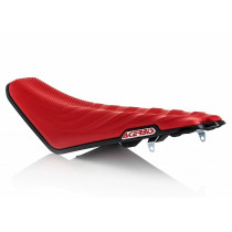 Acerbis Sitzbank X-Seat Honda Soft rot-schwarz