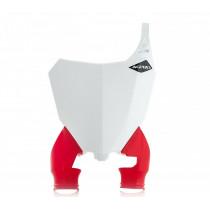 Acerbis Startnummerntafel Raptor Honda weiß-rot