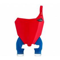 Acerbis Startnummerntafel Raptor Honda rot-blau