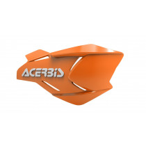 Acerbis Ersatzschalen Handprotektoren X-FACTORY orange-weiß