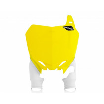Acerbis Startnummerntafel Raptor Suzuki gelb-weiß