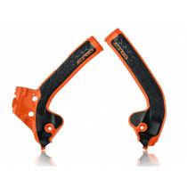 Acerbis Rahmenschutz X-GRIP KTM / Husqvarna orange16-schwarz