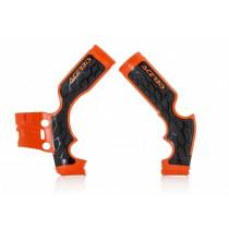 Acerbis Rahmenschutz X-GRIP KTM / Husqvarna orange-schwarz