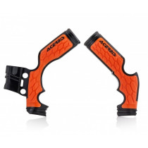 Acerbis Rahmenschutz X-Grip KTM / Husqvarna schwarz-orange