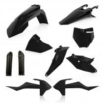 Acerbis Plastik Full Kit KTM schwarz / 7tlg.