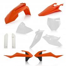 Acerbis Plastik Full Kit KTM OEM / 7tlg.