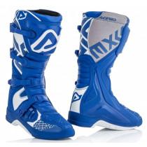 Acerbis Stiefel X-Team blau-weiß
