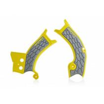 Acerbis Rahmenschutz X-Grip Suzuki gelb-silber