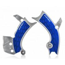 Acerbis Rahmenschutz X-GRIP Yamaha silber-blau