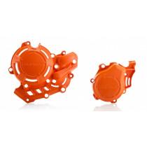 Acerbis Kupplungsdeckel & Zündungsdeckel Schutz X-Power KTM / Husqvarna orange