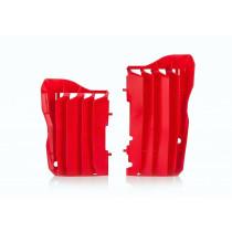 Acerbis Kühler Schutz Honda rot