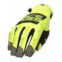 Acerbis Handschuhe MX-WP schwarz-gelb-fluo