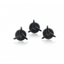 Acerbis Helmschrauben Carbon Steel & VTR X-Pro schwarz