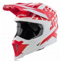 Acerbis Helm VTR X-Racer rot-weiß