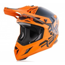 Acerbis Helm VTR X-Pro schwarz-orange matt