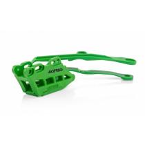 Acerbis Kit Schwingenschleifer / Kettenklotz 2.0 Kawasaki grün