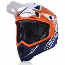 Acerbis Helm VTR X-Track orange-blau