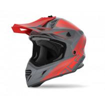 Acerbis Helm VTR X-Track grau-rot