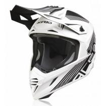 Acerbis Helm VTR X-Track schwarz-weiß