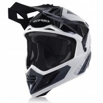 Acerbis Helm VTR X-Track weiß-schwarz