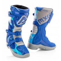 Acerbis Stiefel X-Team Junior blau-grau