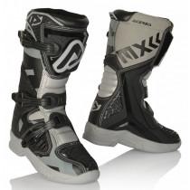 Acerbis Stiefel X-Team Junior schwarz-grau