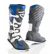 Acerbis Stiefel X-Race blau-grau
