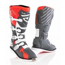 Acerbis Stiefel X-Race rot-grau