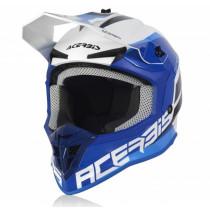 Acerbis Helm Linear weiß-blau