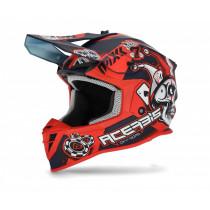 Acerbis Helm Linear blau-rot