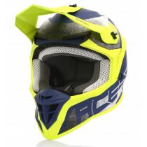 Acerbis Helm Linear gelb-blau