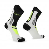 Acerbis Socken MTB Track schwarz-gelb-fluo