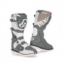 Acerbis Stiefel E-Team grau-weiß