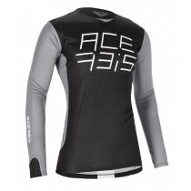 SALE% - Acerbis Jersey MX J-Race schwarz-grau