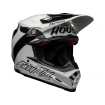 BELL Moto-9 Flex Helm Fasthouse Newhall Gloss White/Black