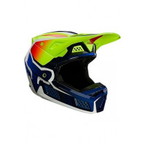 Fox V3 HELM RS WIRED FLO YLW