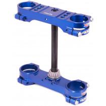 Xtrig ROCS tech Gabelbrücke Husqvarna TC50 Mini, 2017-2020 blau