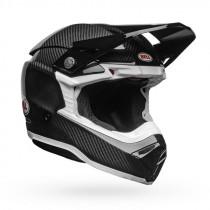 BELL Moto-10 Spherical Helmet - Gloss Black/White