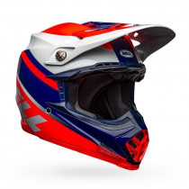 BELL Moto-9 Mips Helm Prophecy Gloss Infrared/Navy/Gray