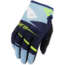 SALE% - UFO Handschuhe Hydra blau-gelb-fluo