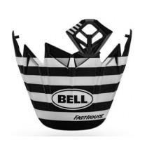 BELL Moto-9 Flex MX Kit Fasthouse Stripes Matt Black/White
